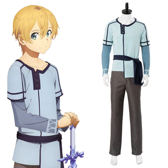 Sword Art Online Alicization Underworld Eugeo Cosplay Costume