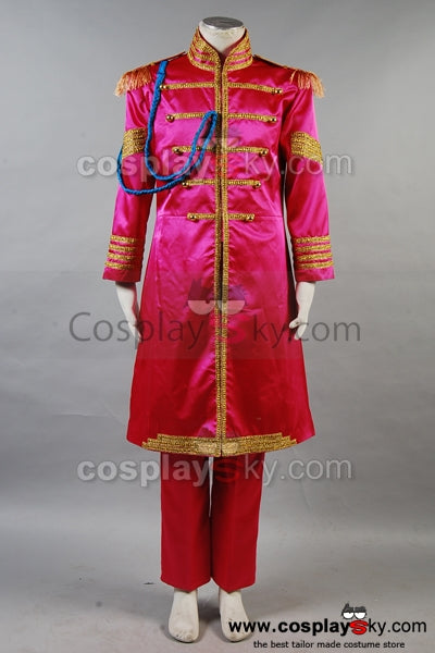 The Beatles Sgt. Pepper's Lonely Hearts Cosplay Costume