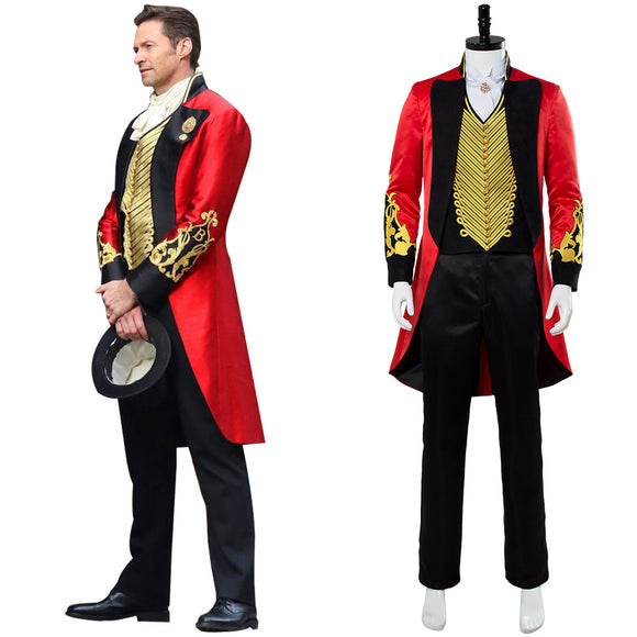 The Greatest Showman P.T. Barnum Cosplay Costume Ver. 2