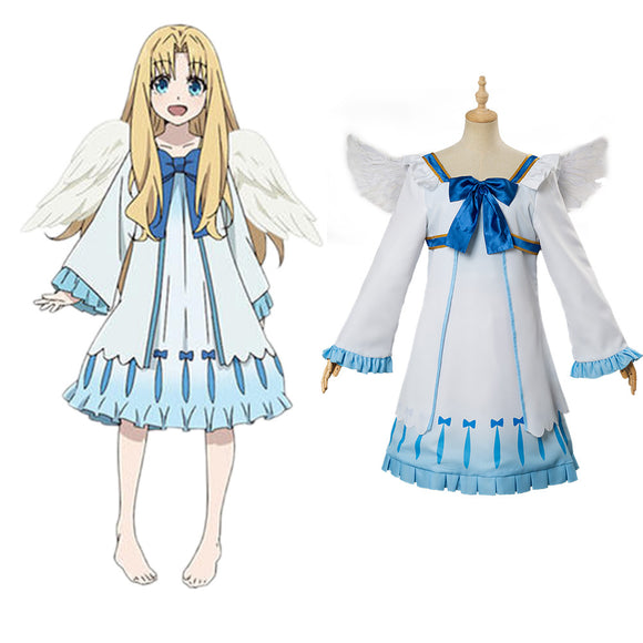 The Rising of the Shield Hero Firo Robe et Ailes Cosplay Costume