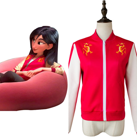 Wreck-It Ralph 2 Ralph 2.0 Mulan Veste Cosplay Costume