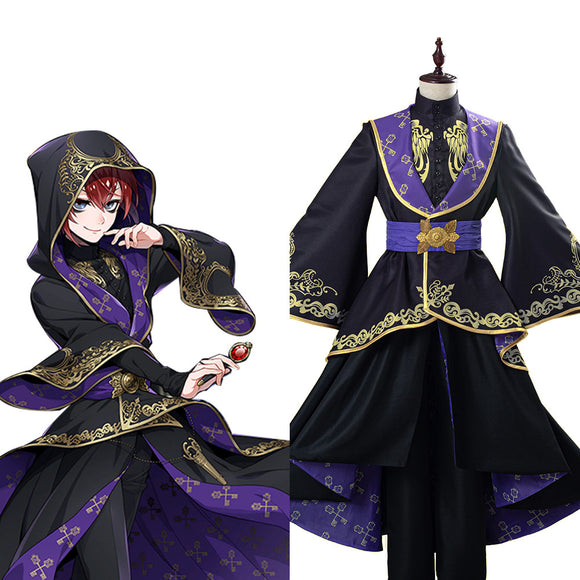 Twisted Wonderland Uniforme Halloween Carnaval Cosplay Costume