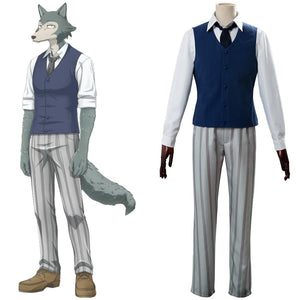 Beastars Legoshi Louis Uniform Scolaire Cosplay Costume