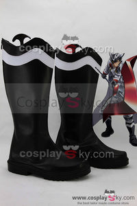 Akame ga KILL! Night Raid Bulat Botte Noire Cosplay Chaussures
