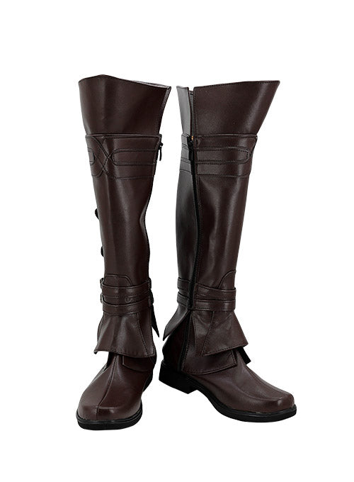 Assassin's Creed Ezio Auditore Da Firenze Bottes Cosplay Chaussures