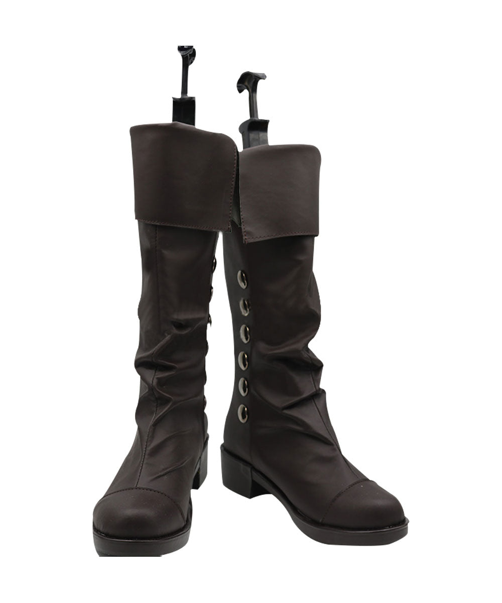Bottes Assassin's Rogue Cosplay Creed Chaussures Shay Cormac dhsCrtxQB