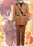 Axis Powers Hetalia 2P Italy Uniforme Costume