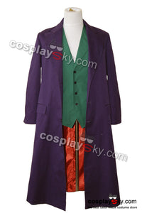 Batman Dark Knight Joker Manteau Pourpre Costume de Cosplay