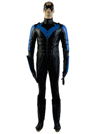 Batman: Arkham City  Richard John Dick Grayson Nightwing Cosplay Costume
