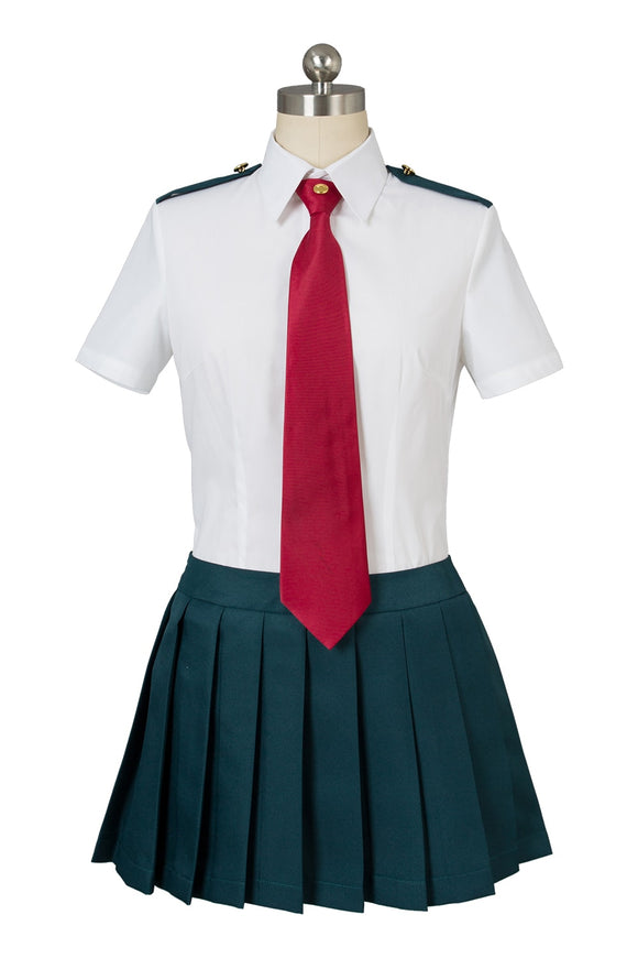 Boku no Hero Academia Fille Uniforme Scolaire D'été Cosplay Costume