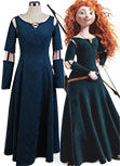 Rebelle Princesse Merida Robe Cosplay Costume