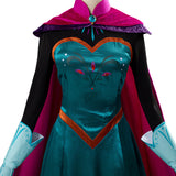 La Reine des neiges Frozen Elsa Robe Halloween Carnaval Cosplay Costume