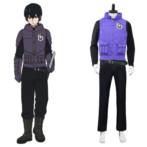 World Trigger Miwa Unit Uniforme Shūji Miwa Cosplay Costume