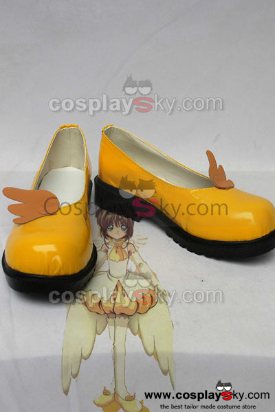 CardCaptor Sakura Sakura Uniforme Version 5 Cosplay Chaussures