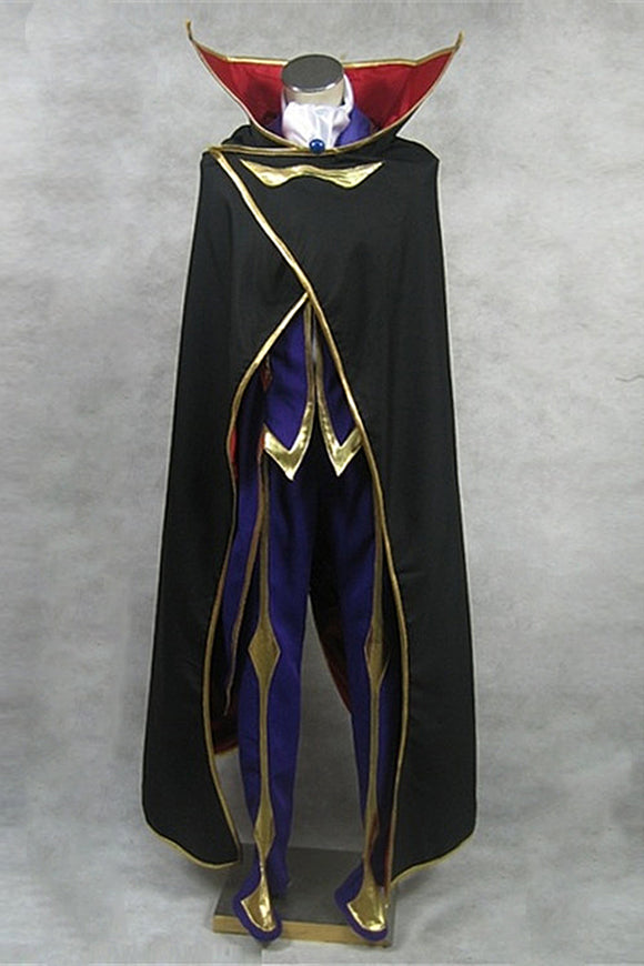 Code Geass: Lelouch of the Rebellion Zero Cosplay Costume