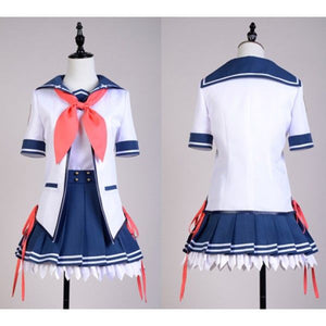 Ao no Kanata no Four Rhythm Uniforme Cosplay Costume