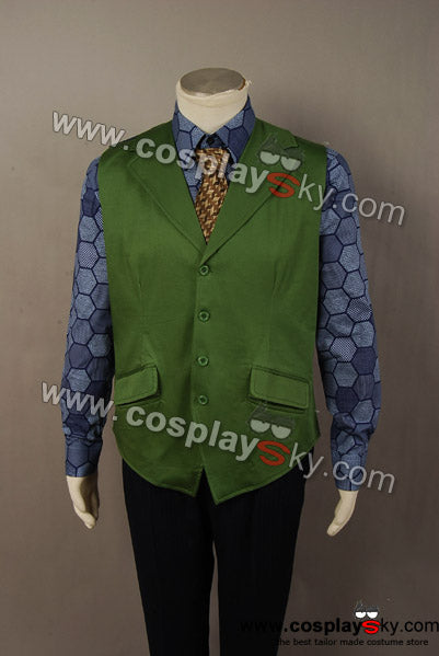 The Dark Knight: Le Chevalier noir Joker Chemise+Gilet Cosplay Costume