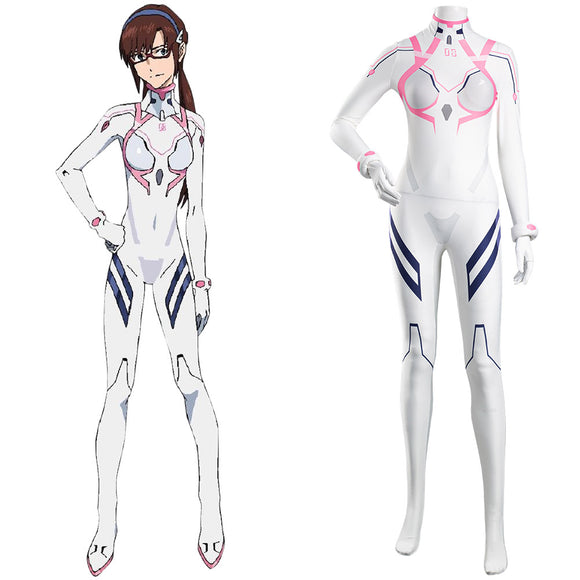 Evangelion: 3.0+1.0 Thrice Upon a Time Mari Makinami Illustrious Cosplay Costume