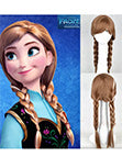 La Reine Des Neiges Princess Anna Cosplay Perruque