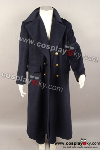 Dr Doctor Who Torchwood Captaine Jack Harkness Manteau Costume Ver2