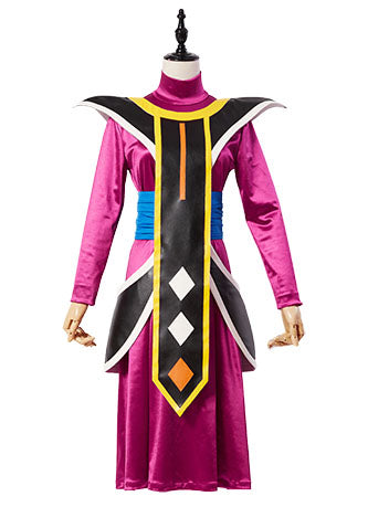 Dragon Ball Maître De Beerus Whis Cosplay Costume