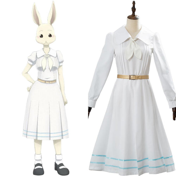 Beastars Haru Uniform Scolaire Fille Robe Cosplay Costume