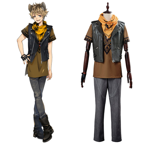 Twisted Wonderland Ruggie Bucchi Cosplay Costume
