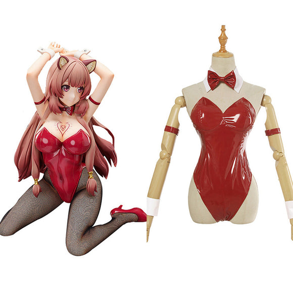 The Rise of Shield Hero Raphtalia Tenue Lapin Bunny Girl Cosplay Costume
