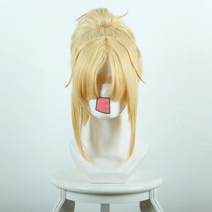 Fate/Apocrypha FA Saber Rouge Mordred Cosplay Perruque