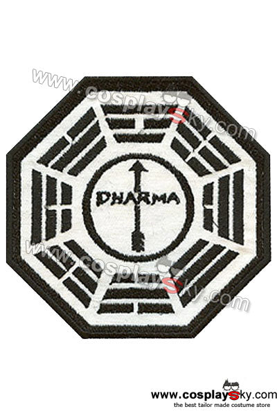Lost Projet Dharma Arrow Costume Pièce Blanche