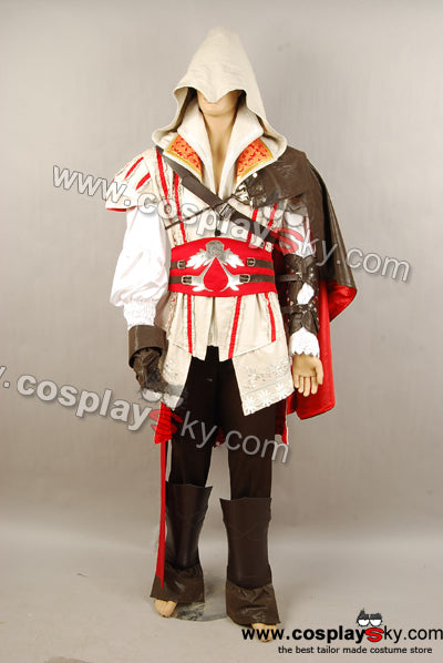 Assassin's Creed 2 II Ezio Cosplay Costume