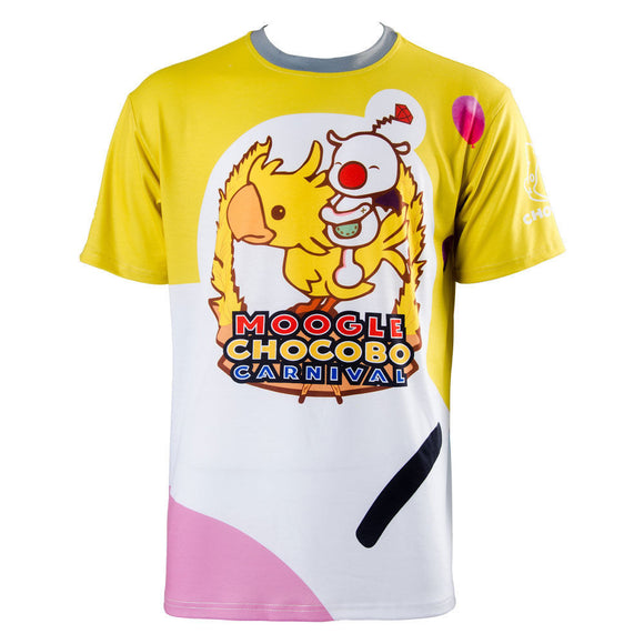 Final Fantasy 15 FF15 Noctis Carnaval Moogle Chocobo Tee-Shirt Cosplay Costume