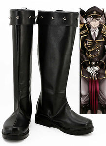 K Return Of Kings Yashiro Isana Uniforme Militaire Bottes Cosplay Chaussures