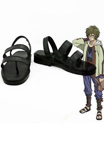 Kabaneri of the Iron Fortress Ikoma Cosplay Chaussures