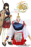 Kantai Collection Porte-avions Japonais Akagi Cosplay Costume