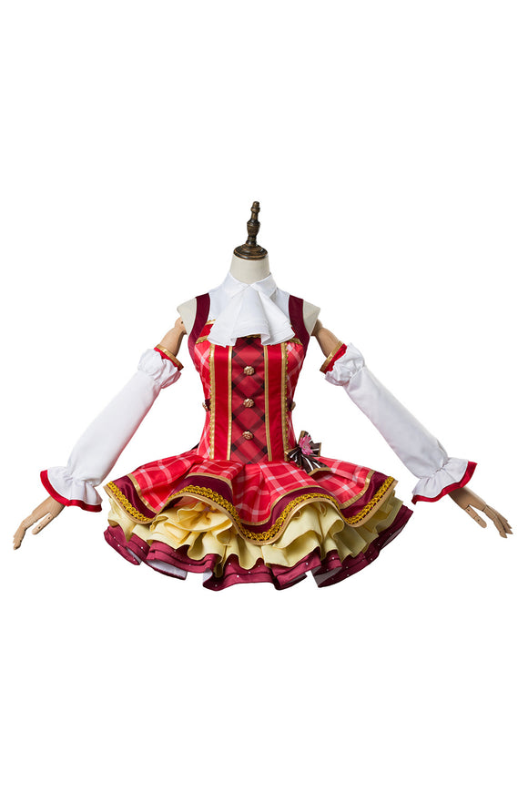 Love Live ! Lovelive Maki Nishikino Robe de Bouquet Cosplay Costume