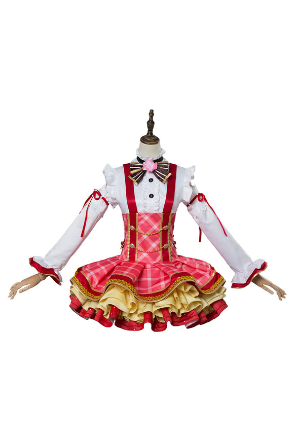 Love Live ! Lovelive Nico Yazawa Robe de Bouquet Cosplay Costume