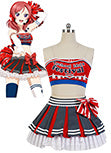 LoveLive! Maki Nishikino Cheerleaders Uniforme Cosplay Costume