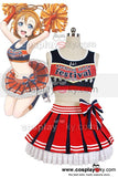 LoveLive! Honoka Kousaka Cheerleaders Uniforme Cosplay Costume