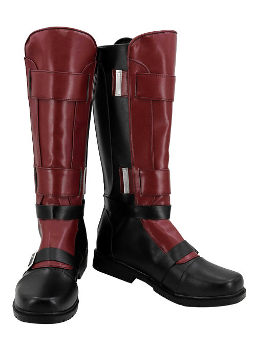 Marvel Deadpool Wade Wilson Cosplay Chaussures