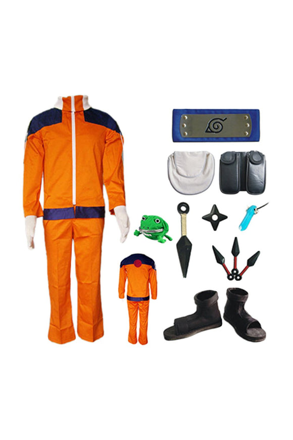 Naruto Naruto Uzumaki Costume Version Enfant Cosplay Costume