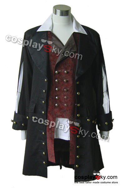 Pirates des Caraïbes Barbossa Costume de Cosplay