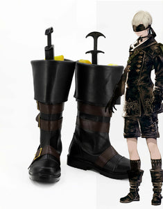 NieR/ Nier: Automata 9S Bottes Cosplay Chaussures