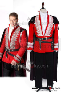 Once Upon a Time Le Prince Charmant  Uniforme Cosplay Costume