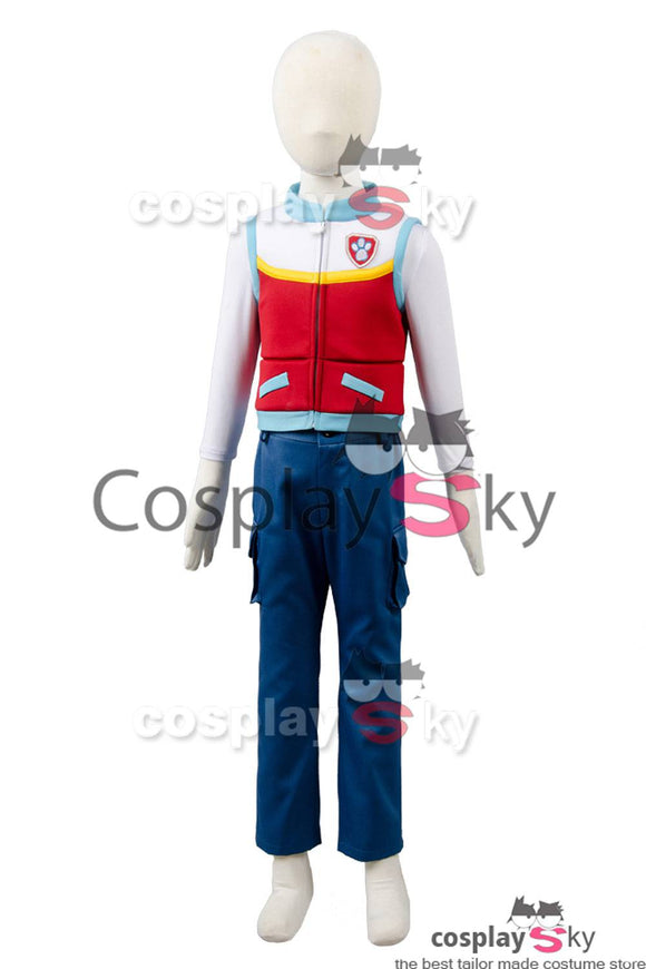 Paw Patrol Captain Ryder Enfant Costume Cosplay Costume