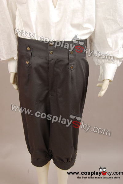 Pirates des Caraïbes Jack Sparrow Pantalon Costume