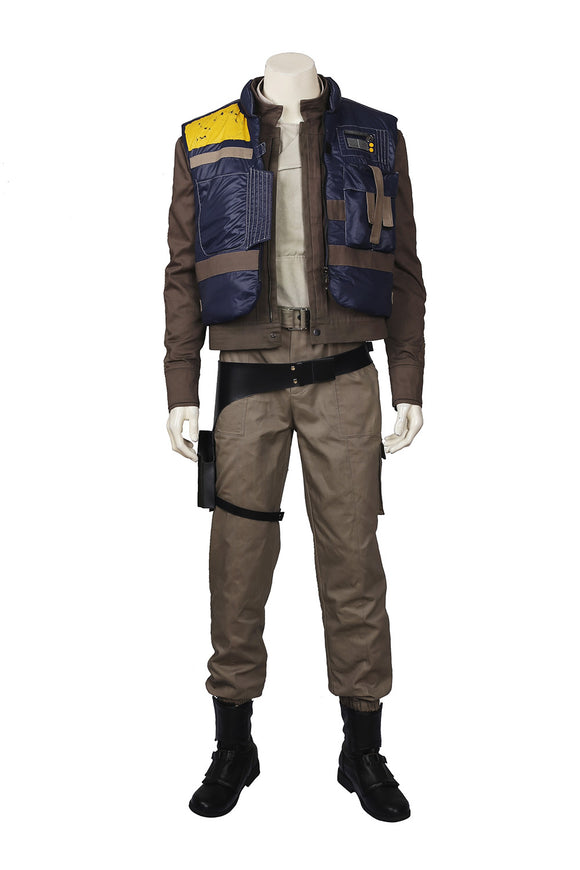 Rogue One: A Star Wars Story Captain Cassian Andor Cosplay Costume