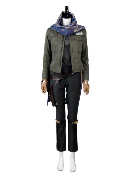 Rogue One: A Star Wars Story Jyn Erso Stardust Cosplay Costume