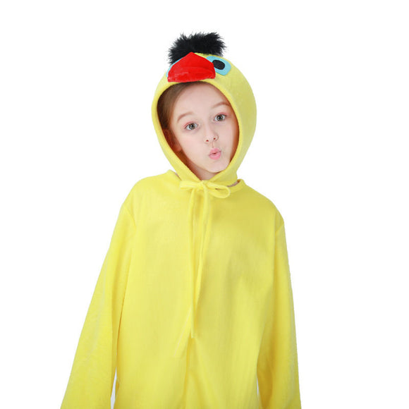 Halloween Animal Poulet Coq Combinaison d'Enfant Cosplay Costume Peignoir Pyjama