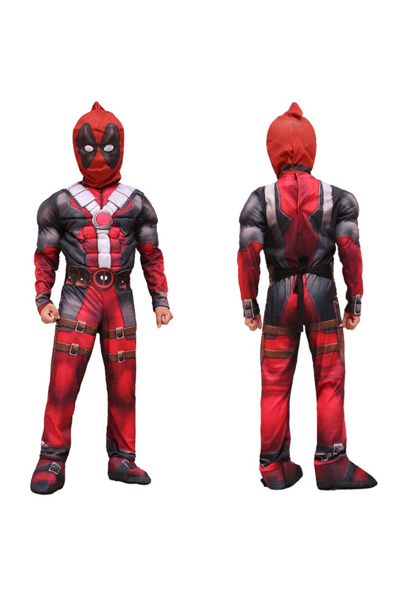 DC Deadpool Costume Déguisement Enfant Cosplay Costume